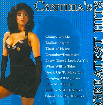 CYNTHIA'S GREATEST HITS BY CYNTHIA (CD)